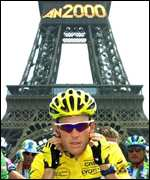 Armstrong and the Eiffel Tour