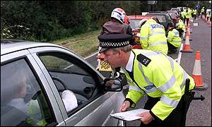 Police road checks