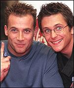Five's Jason Brown and Ritchie Neville