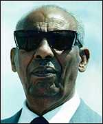 former Somali leader, the late Siad Barre