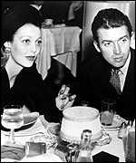 Loretta Young with James Stewart in 1941