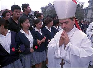 The Archbishop of Guatemala City