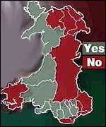 [ image: How Wales voted in the devolution referendum]