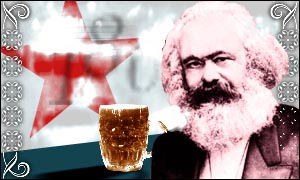 Karl Marx graphic