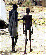 Sudan famine index