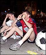 England fans during Euro 2000