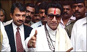 Shiv Sena leader Bal Thackeray
