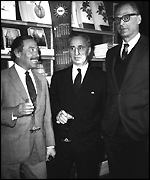 Elia Kazan, Tennessee Williams and Arthur Miller