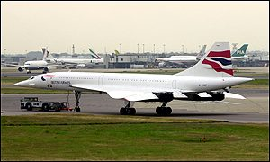 BA Concorde at Heathrow
