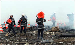Air France crash site