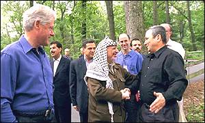 Clinton, Barak and Arafat