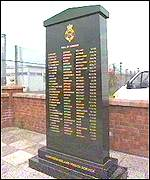 Prison Officers memorial