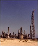 Kuwait oil fields