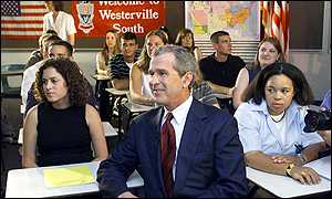 George W Bush/schoolchildren