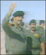 Saddam Hussein in Kuwait