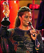 Des'ree at the 1999 Brit Awards