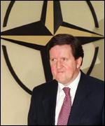 Lord Robertson, Nato Secretary General