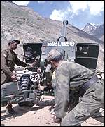 Indian soldiers during Kargil conflict