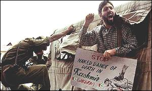 Protest in Indian-administered Kashmir