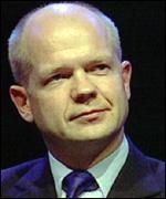 Opposition leader William Hague