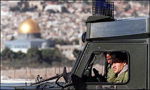 Israeli army in Jerusalem
