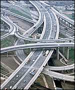 UK motorway junction