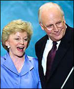 Dick Cheney and his wife Lynne