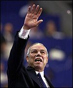 Former head of the Joint Chiefs of Staff Colin Powell