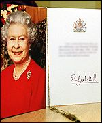 Bbc news uk crowds gather for queen mother a 100th birthday card from the queen bookmarktalkfo Choice Image