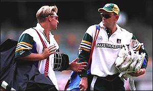Warne and Gilchrist