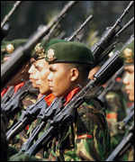 Indonesian soldiers