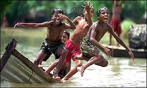 Indian boys in Shantipur, Nadia district