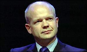 Tory leader William Hague