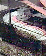 Cigarette factory