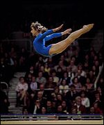 Olga Korbut won three golds and a silver