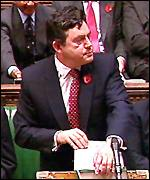 Gordon Brown delivers the 2000 Pre-Budget Report