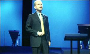 Opposition leader William Hague at last year's party conference