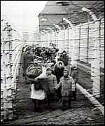 Nazi concentration camp/inmates