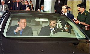 Hugo Chavez-Saddam Hussein