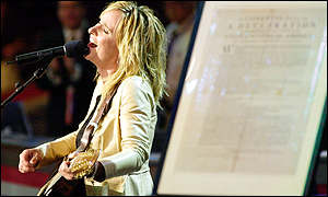 Melissa Etheridge at the convention