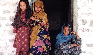A Hindu family living in Pakistan