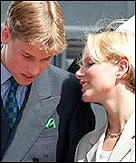 Prince William and Zara Phillips