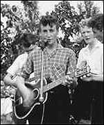 John Lennon with The Quarrymen