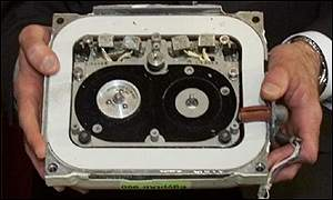 Data recorder from flight 990