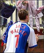 A Blackburn fan mourns Walker's death