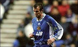Michael O'Neill in action for Wigan Athletic