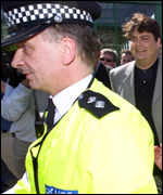 Mr Shayler arrested at Dover