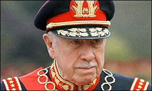 General Pinochet in uniform