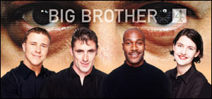 Big Brother contestants Craig, Thomas, Darren and Anna