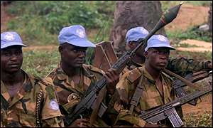 Nigerian peacekeepers in Sierra Leone